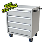 Moduline 4-Drawer Light Grey Aluminum Toolbox