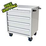 Moduline 4-Drawer White Aluminum Toolbox