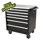 Moduline 6-Drawer Black Aluminum Tool Cabinet
