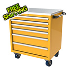 Moduline 6-Drawer Yellow Aluminum Tool Cabinet