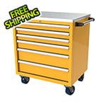 Moduline 6-Drawer Yellow Aluminum Tool Cabinet