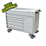 Moduline 6-Drawer / 1-Door Light Grey Aluminum Tool Cabinet