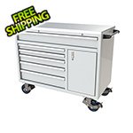 Moduline 6-Drawer / 1-Door White Aluminum Tool Cabinet