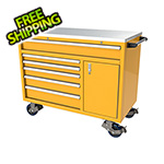 Moduline 6-Drawer / 1-Door Yellow Aluminum Tool Cabinet