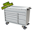 Moduline 9-Drawer Light Grey Aluminum Toolbox