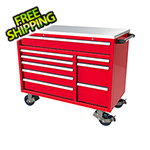 Moduline 9-Drawer Red Aluminum Toolbox