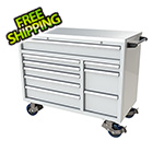 Moduline 9-Drawer White Aluminum Toolbox