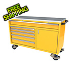 Moduline 6-Drawer / 1-Door Yellow Aluminum Tool Chest