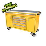 Moduline 6-Drawer / 2-Door Yellow Aluminum Toolbox