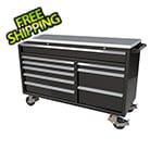 Moduline 9-Drawer Black Aluminum Tool Cabinet
