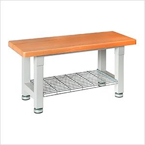 UltraHD Wood Storage Bench