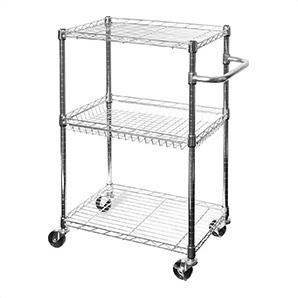3-tier Ultrazinc Utility Cart