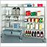 48-Inch 5-Shelf Shelving System