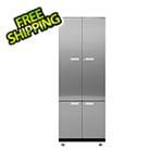 Hercke 1-Piece Stainless Steel Garage Cabinet System