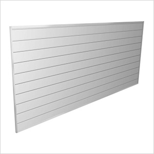 8' x 4' PVC Wall Panels and Trims (White)