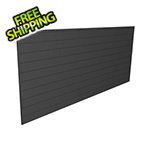 Proslat 8' x 4' PVC Wall Panels and Trims (Charcoal)