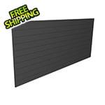 Proslat 8' x 4' PVC Wall Panels and Trims (Charcoal)