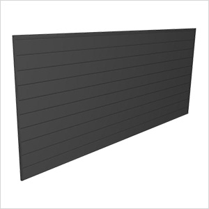 8' x 4' PVC Wall Panels and Trims (Charcoal)