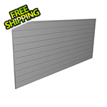 Proslat 8' x 4' PVC Wall Panels and Trims (Light Grey)