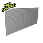 Proslat 8' x 4' PVC Wall Panels and Trims (Light Grey)