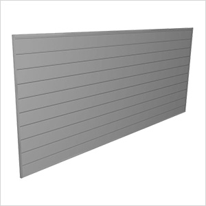 8' x 4' PVC Wall Panels and Trims (Light Grey)
