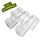 Proslat 5-Piece Shelf and Basket Kit