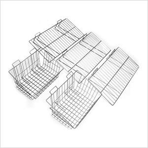 5-Piece Shelf and Basket Kit