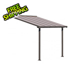Palram Olympia 10' X 10' Patio Cover (Grey / Bronze)
