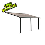 Palram Olympia 10' X 20' Patio Cover (Grey / Bronze)
