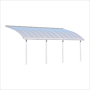 Joya 10' X 24' Patio Cover (White)