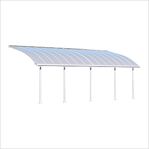 Joya 10' X 28' Patio Cover (White)