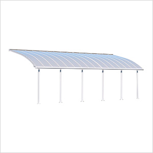 Joya 10' X 30' Patio Cover (White)