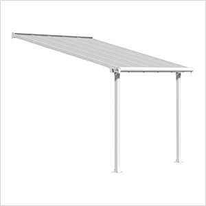 Olympia 10' X 10' Patio Cover (White)