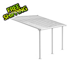 Palram Olympia 10' X 14' Patio Cover (White)