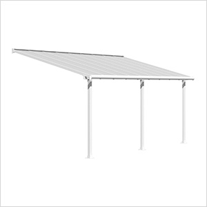 Olympia 10' X 18' Patio Cover (White)