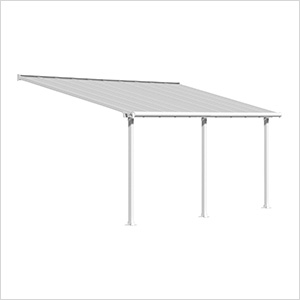 Olympia 10' X 20' Patio Cover (White)