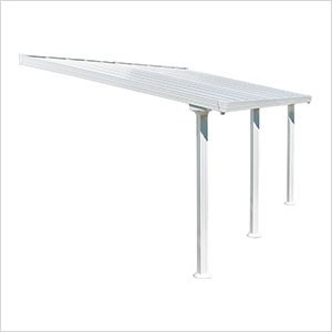 Gala 10' X 20' Patio Cover (White)
