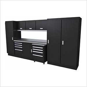 Select Series 11-Piece Aluminum Garage Cabinet Set (Black)