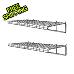 Proslat 24-Inch Metal Shelf (2-Pack)