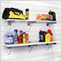 48-Inch White Shelf (2-Pack)