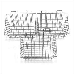 Metal Basket (3-Pack)
