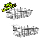 Proslat Large Metal Basket (2-Pack)