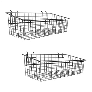 Large Metal Basket (2-Pack)
