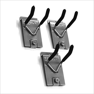4-Inch Double Hook (3-Pack)