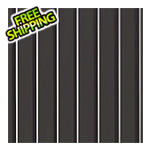 G-Floor 7.5' x 17' Ribbed Roll-Out Garage Floor (Black)