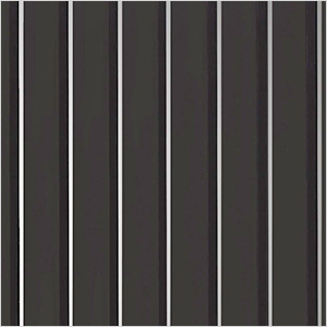 7.5' x 17' Ribbed Roll-Out Garage Floor (Black)
