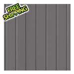 G-Floor 7.5' x 17' Ribbed Roll-Out Garage Floor (Grey)