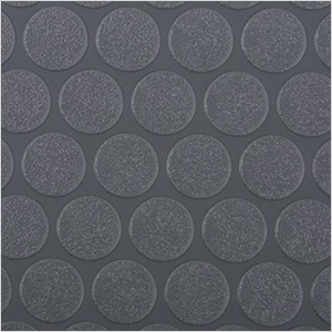 5' x 10' Small Coin Roll-Out Garage Floor (Grey)