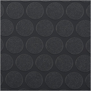 7.5' x 17' Small Coin Roll-Out Garage Floor (Black)