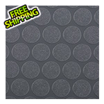 G-Floor 10' x 24' Small Coin Roll-Out Garage Floor (Grey)